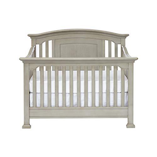 Centennial Medford 4 in 1 Convertible Crib in a Vintage Grey Finish