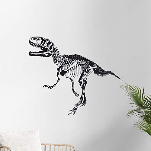 Nacnic Vinilo Decorativo Pegatina de Pared Adhesiva T-Rex para Habitaciones Juveniles, Zonas comunes.Motivo Dinosaurio T-Rex