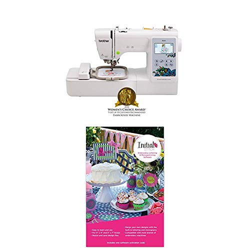 Lowest Price! PE535 with Initial Stitch Embroidery Lettering & Monogramming Software