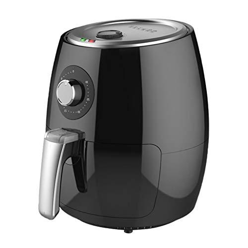 SISHUINIANHUA 3.8L Freidora de Aire eléctrico Control de Temperatura sin Palo Función de Tiempo para cocinar de Cocina Freír horneado