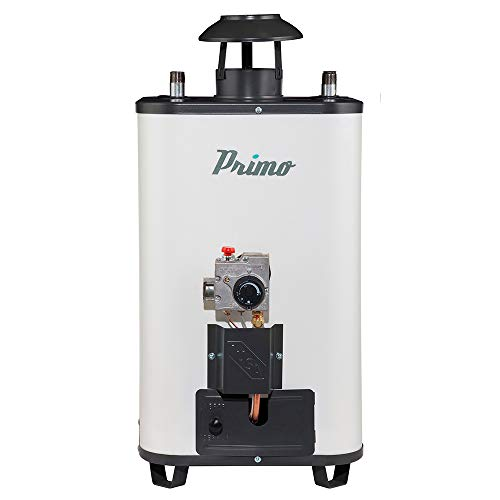 Calentador Rápida Recuperación Primo 12 L Gas L.P. Agua Caliente Instantánea e Ilimitada para 2 + ½ Regaderas/Servicios. Producto hecho en México. Garantía IUSA.