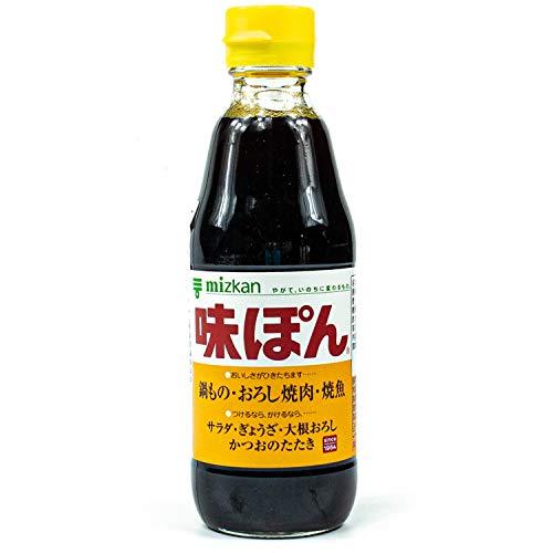Soja-Sauce - Ponzu Ajipon, mit Zitrusfruchtsaft und Essig, Mitsukan, Japan, 360 ml