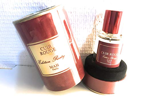Cuir Rouge - Tenue longue durée - Eau de parfum 50ml - Made in France