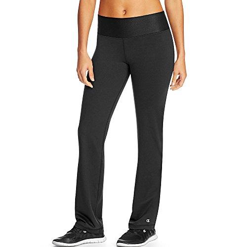 Champion Absolute Women`s Semi Fit Pant, L, Black