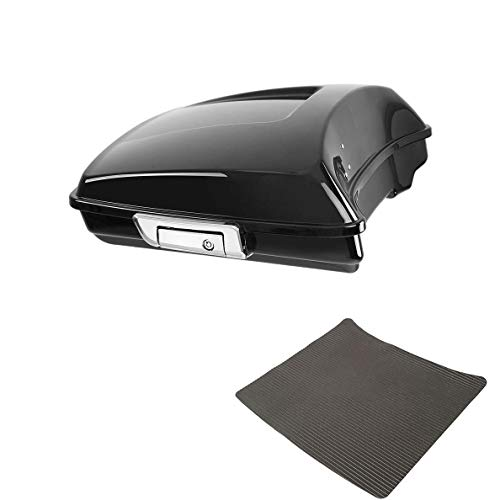 """TCMT 5.5"""" Razor Tour Pack Trunk W/Latch Key Fits For Harley Touring Street Road Glide 2014-2020"""