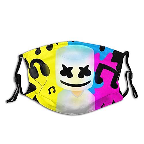 Marsh-Mello - Máscara facial unisex para el polvo, lavable, reutilizable y...