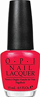 O.P.I Nail Lacquer, Red Lights Ahead Where, 15ml