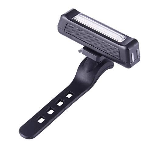 Tuzi Qoge Rücklicht Fahrrad-Warnlicht Rotlicht-LED Fahrrad-Licht-Heckleuchten USB aufladbare 6-Modi Fahrrad-hintere Licht-Warnlicht mit Lenkerhalterung QiuGe