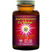 HealthForce SuperFoods Antioxidant Extreme - 120 Vegan Capsules - All Natural Turmeric Root Complex, Anti Inflammatory - Kosher, Gluten Free - 60 Servings