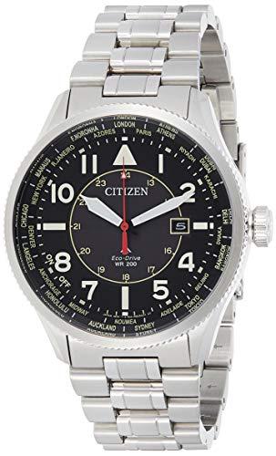 Citizen Promaster Nighthawk BX1010-53E - Reloj de pulsera para hombre, esfera negra, color negro