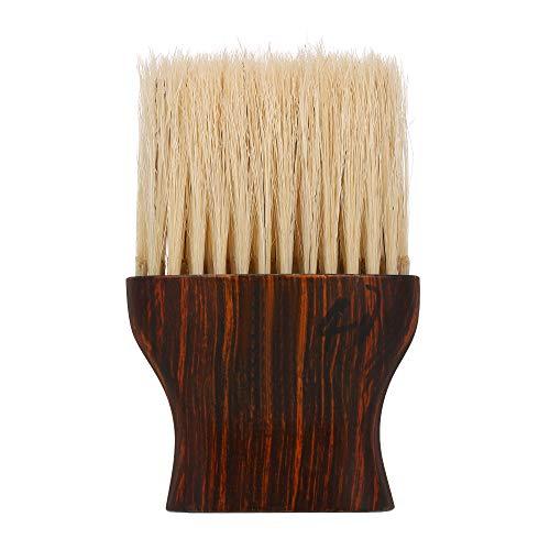 Andoer Escova de espanador de cabelo para cortar rosto, pescoço, para cabeleireiro, cabeleireiro, salão profissional, barbeiro, escova de limpeza ferramenta