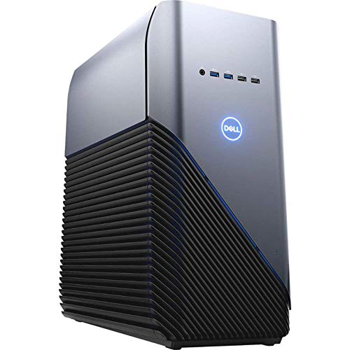 Dell Inspiron 5676 Gaming PC 16GB RAM, 128GB SSD+1TB HDD, AMD Ryzen 7 2700 8-Core up to 4.10 GHz, Radeon RX580 4GB, VR Ready Desktop, RJ-45 Ethernet, Windows 10