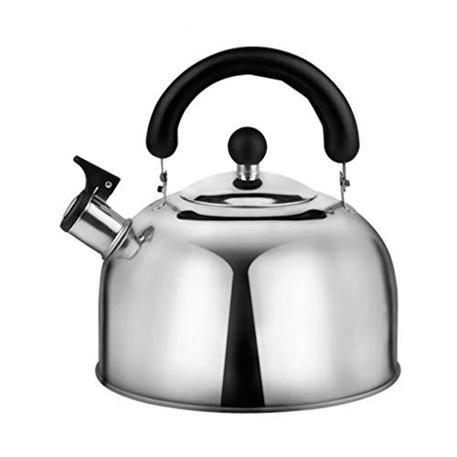 Bouilloire 304 en acier inoxydable de grande capacité à induction domestique à gaz gaz brûlant une bouilloire épaississement UOMUN (Size : 4L)