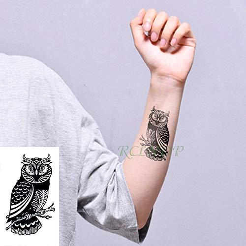 6pcs Impermeable Etiqueta engomada del Tatuaje del Lobo del Tigre ...