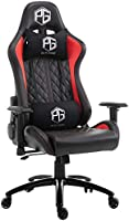 Pulse gaming Ergonomic Chair (Metal; PU Leather Black)
