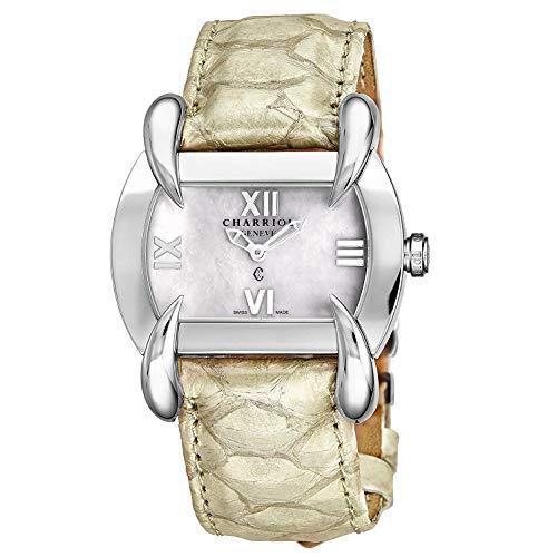 Charriol KUCHTL.490.KTL004 - Orologio svizzero da donna in pelle di vitello