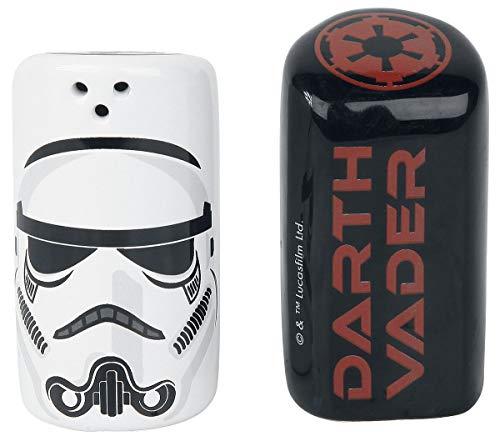Star Wars Darth Vader & Stormtrooper - Salero y pimentero