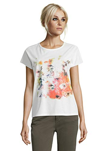 Cartoon Damen 2091/7378 T-Shirt, Offwhite, 38