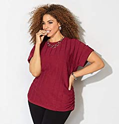 Avenue Ruched Plus Size Sweater