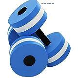 vitihipsy aquagym haltères, aquagym et Piscine Fitness améliorer la Formation Exercices de Yoga de 2 Femmes/Hommes