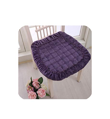 Kitchen Seat Cushion Floor Mat,8 Colors Chair Cushion Back Cushion Pad,Dining Chair Cushion Sofa Pad,almofada cojines,Matixingqiezi,About 40x40cm