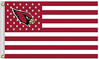 NFL Arizona Cardinals Stars and Stripes Flag Banner - 3X5 FT - USA FLAG