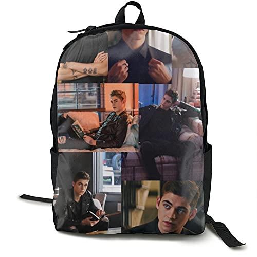 Hardin Scott M Classic Kids Backpack Elementary Boys Girls School Bag Set With Lunch Bag - Blue