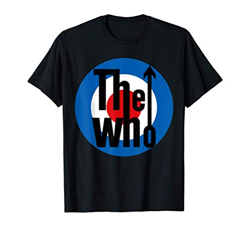 The Who Official Classic Target Logo T-Shirt