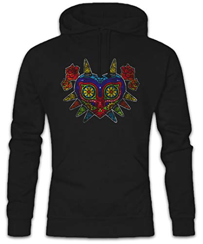Urban Backwoods Mexican Majora's Mask Hoodie Kapuzenpullover Sweatshirt Schwarz Größe S