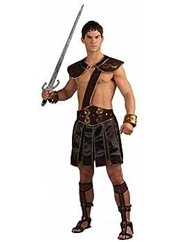Forum Roman Gladiator Adult Costume Brown Standard