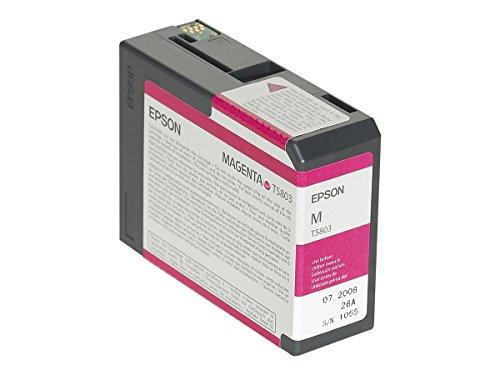 Epson C13T580300 Cartouche d'encre compatible avec Imprimante PRO3800 Magenta