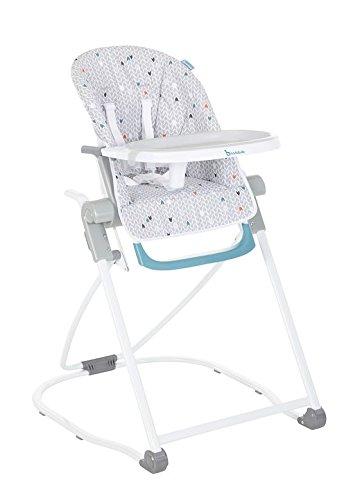 BADABULLE Chaise Haute Pliante Réglable...
