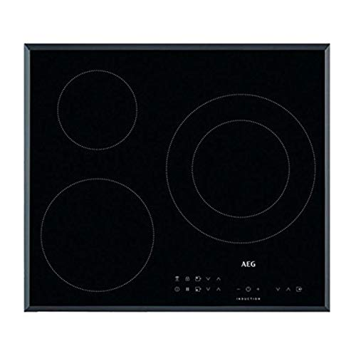 AEG IKB63302FB hobs Negro Integrado Con - Placa (Negro, Integrado, Con placa de inducción, 2500 W, 14,5 cm, 3700 W)