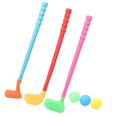 Langlebiges Golfschläger-Set, Eltern-Kind-Spiele, Golf-Set für Freizeit, Minigolf, Spielzeug für Kinder