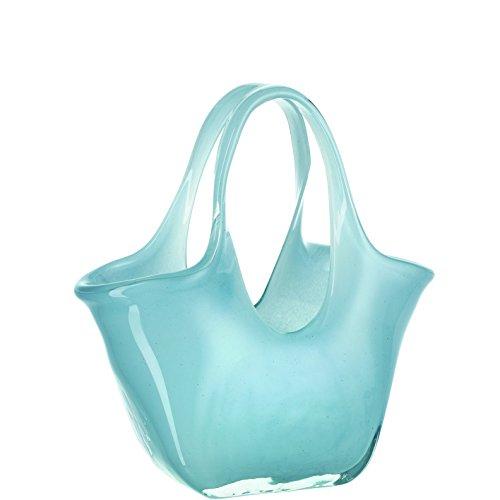 LEONARDO (レオナルド) ベース グラスバッグ 23cm Bella ブルー