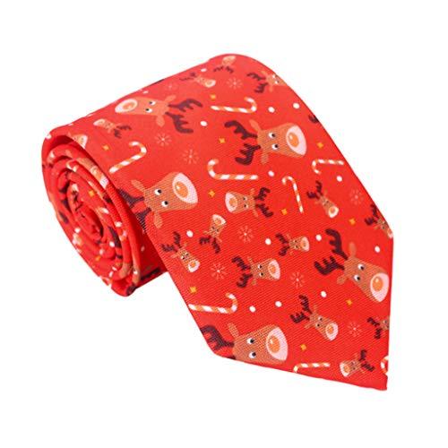 Tinaa Weihnachts-Krawatte, Herren, Modeschmuck, Krawatte, Geschenk für Herren 3
