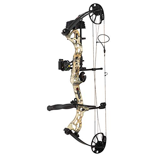 Karnage Dynamic Compound Bow 70 LBS RH God's Country, camo/Black