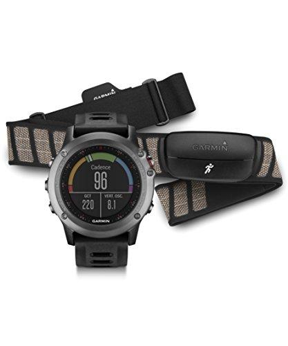 Garmin fenix 3, Gray bundle with Heart Rate Monitor
