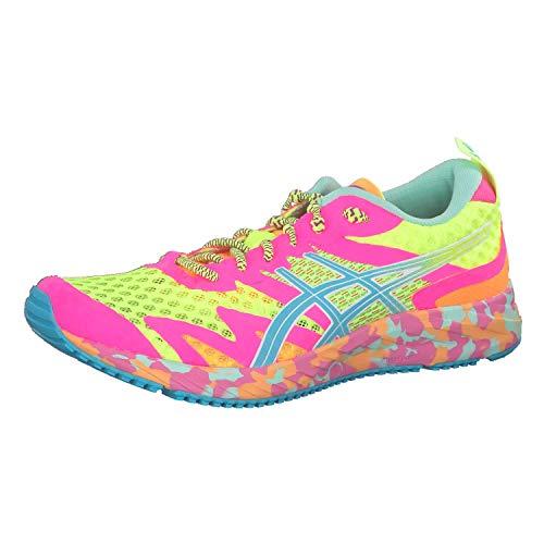 Asics GEL-NOOSA TRI 12, Women's Running Shoes, Safety Yellow/Aquarium, 7 UK (40.5 EU)