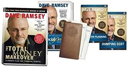Dave Ramsey Starter Kit Includes The Total Money Makeover and Financial Peace Revisited, 2 DVDs and Starter Envelope Station)