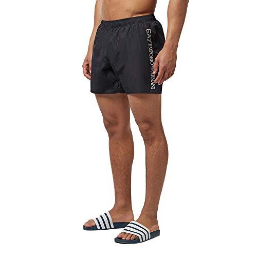 Emporio Armani Traje de baño para Hombre EA7 Shorts Negros 902035CC720-00020