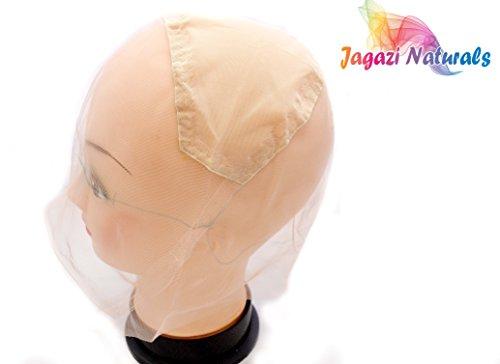 Full Lace wig cap with ear to ear stretch. Pre made for you 4 Lace Wig DIY/Chapeau de perruque en dentelle avec une boucle d'oreille à l'oreille. Pré