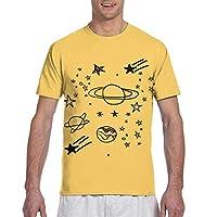 ユニセックスtシャツ、宇宙3 Dプリントスポーツシャツクルーネック半袖tシャツノベルティトップ