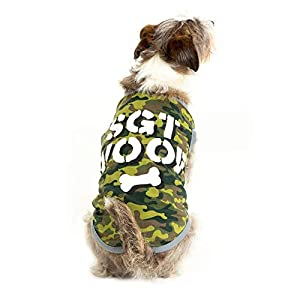 SGT. Woof Camo Pup Dog Shirt – Cute Army Soldier Halloween Costume