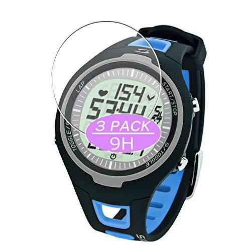 VacFun 3 Piezas Vidrio Templado Protector de Pantalla, compatible con Sigma PC 15.11, 9H Cristal Screen Protector Protectora Reloj Inteligente ⭐