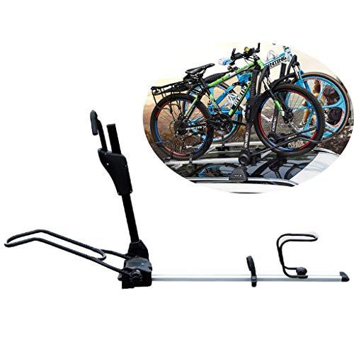 Fahrradständer Auto-Dach-Fahrradträger-Rack - Universal Alloy Fahrrad Storage Rack - Dach Upright for SUV - Last 150kg - Berge & Rennrad Shelf