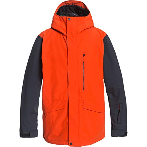 Quiksilver Snow Mission 3N1 Jacket Pureed Pumpkin LG