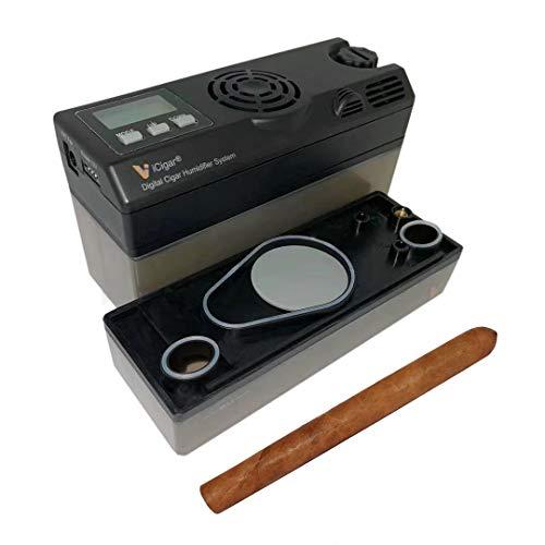Le Veil iCigar Electric Digital Intelligent Cigar Humidifier 25~600CT