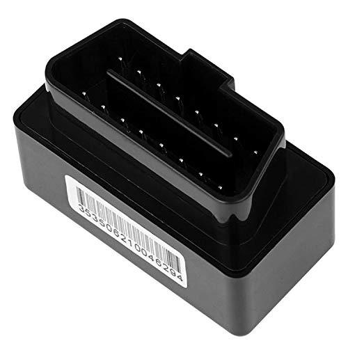 Fltaheroo Car OBD GPS Tracker Plug and Car Tracker OBD GPS Tracker Car Tracker Localizador en Tiempo Real con Sos Alarm Geo-Fence AplicacióN Gratuita