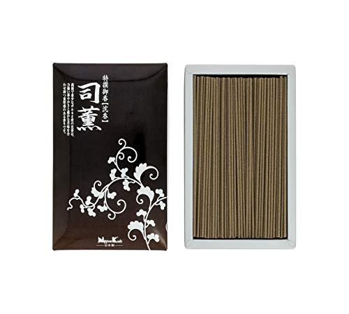 Nippon Kodo Räucherstäbchen, Japan, Naturharz, Pflanzen, Holz und Mineralien, pulverbeschichtet, Braun, 180 g